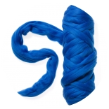 меринос фабрики IDEEN Германия 19,5 мкм синий бриллиант
