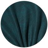 префельт 80% шерсть + 20% шелк префельт черный + шелк малбери сине-бирюзовый