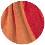 префельт Дуэт двусторонний 100% шерсть индийский желтый + огненно красный 100% шерсть