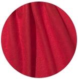 префельт 80% шерсть + 20% шелк префельт + шелк малбери огненно красного цвета