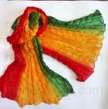 многоцветные шарфы 90см*150см шарф многоцветный 006