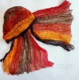 многоцветные шарфы 90см*150см шарф многоцветный 013