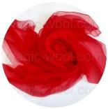 шарфы шелковые окрашенные однотонные и с переходами красный