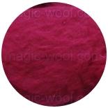 шерсть Bergschaf 29мкм ярко розовый