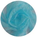 натуральный шелк 100% цветной газ шифон 3.5 небесно-голубой