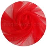 натуральный шелк 100% цветной газ шифон 3.5 огненно-красный