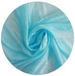 натуральный шелк 100% цветной понже 4.5 (эксельсиор) небесно-голубой