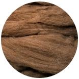 меринос натуральный (merino) + бленды меринос (merino) 24мкм натурально-коричневый