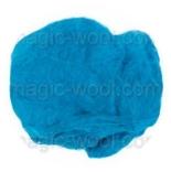 шелковые платки (mawata silk) окрашенные шелковые платки (mawata silk) кобальт