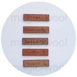 бирки, ярлыки, наклейки бирка деревянная 17мм*64мм