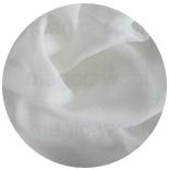 натуральный 100% шелк жатый шелк (silk crepe) 05 белый 110см
