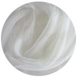 натуральный 100% шелк органза шелковая 5.5 слоновая кость 105см