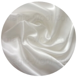 натуральный 100% шелк атлас шелковый 12мм белый 95см
