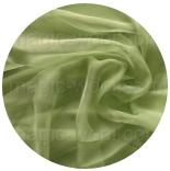 натуральный шелк 100% цветной газ шифон 3.5 оливковый