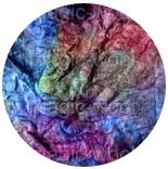 лепс шелковый ручного крашения от Оливер Твист (Oliver Twist ) шелковый лепс 0057