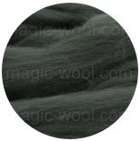 бленд(микс) в тон шерсти 18 мкм 70%мериноса + 30%шелк tussah пихта