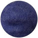 шерсть Bergschaf 29мкм темно синий