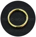 Крепления, соединительные элементы, рамки, кольца и т. д. кольцо разъемное 40мм золото