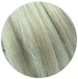 бленд 21 мкм шерсть меринос 70% с нейлоном радуга 30% молния