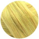 бленд 21 мкм шерсть меринос 70% с нейлоном радуга 30% ванильно фисташковый
