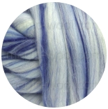 многоцветный бленд из 80% шерсти мериноса 21мкм+20% окрашенные волокна бамбука игра