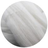 меринос натуральный (merino) + бленды меринос натурально белый 21мкм