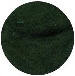шерсть Bergschaf 29мкм темно-зеленая