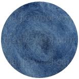 новозеландская кардочесанная шерсть (Латвия) 27мкм туманно-голубой К6007