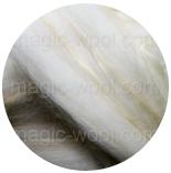меринос натуральный (merino) + бленды бленд из шерсти мериноса + волокна сои