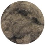 шерсть яка (Yak) коричневый натуральный в кардочесе