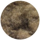 шерсть яка (Yak) светло-коричневый натуральный в кардочесе