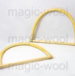 бамбуковые и деревянные ручки для сумок Ручки для сумок «Zlatka» 125х180 мм