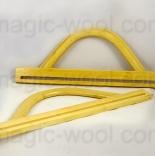 бамбуковые и деревянные ручки для сумок Ручки для сумок Zlatka HA-10с 112х300 мм