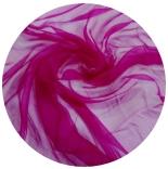 шарфы шелковые окрашенные однотонные и с переходами фуксия