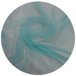 шарфы шелковые окрашенные однотонные и с переходами светлый аквамарин