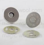 Замки, застежки, магниты магнитная кнопка никель 18мм