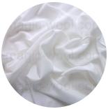натуральный 100% шелк крепдешин 12мм белый 114см