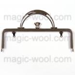 Рамочные замки, цепочки для сумок рамочный замок с ручкой 20,2см*6,6см