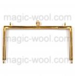 Рамочные замки, цепочки для сумок рамочный замок золото 20см*10,5см