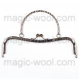 Рамочные замки, цепочки для сумок металлическая рамка 21,5см * 6,5см с ручкой