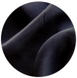 натуральный шелк 100% цветной газ шифон 3.5 черный