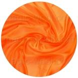 натуральный шелк 100% цветной шелк понже 4.5 (эксельсиор) ярко оранжевый