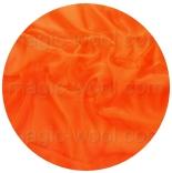 натуральный шелк 100% цветной газ шифон 3.5  ярко оранжевый