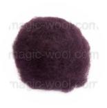 кардочесанная шерсть Маори (Италия) 25-27мкм пурпурный
