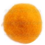 кардочесанная шерсть Маори (Италия) 25-27мкм желток