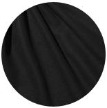 префельт 80% шерсть + 20% шелк префельт черный + шелк малбери черный