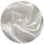 натуральный 100% шелк атлас шелковый 12мм белый 114см