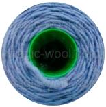 шерстяной шнур голубой