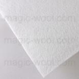 фетр 3мм 45см*50см полиэстер белый