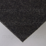 фетр 3мм 45см*50см полиэстер серо-коричневый меланж